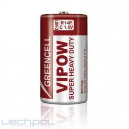 Batéria VIPOW GREENCELL R14, 1,5V
