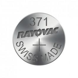 Gombíková batéria do hodiniek RAYOVAC 371, 1,55V