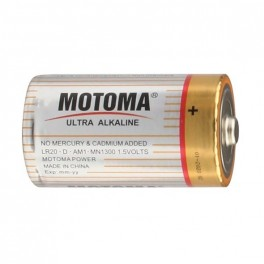 Batéria D R20 alkal. MOTOMA Ultra Alkaline LR20