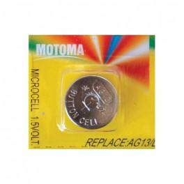 Batéria AG13 (LR44) MOTOMA alkalická