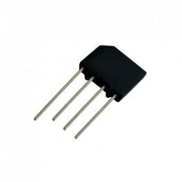 Mostík diod. 2A/1000V KBP10 plochý