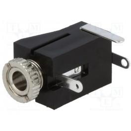 Konektor Jack 3,5mm zdierka, mono s vypínačom