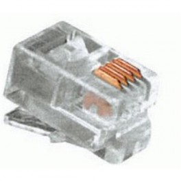Konektor telefónny kábel 4p-4c RJ10