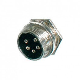 Konektor MIC panel kov 5PIN šrubovací