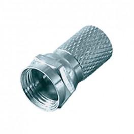 Konektor F 6.8mm gum. krúžok