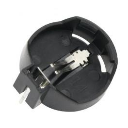 Držiak na batériu CR2032 - vodorovné uloženie