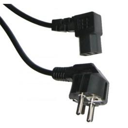 Kábel napájací sieťový PC uhlový 3m