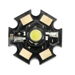 LED 5W studená biela s chladičom